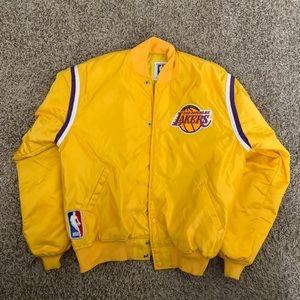 Vintage Lakers Starter Bomber Jacket